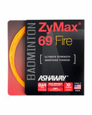 Ashaway ZyMax 69 Fire Badminton String Set-Fire Orange