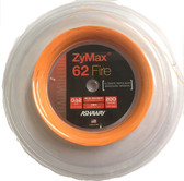 Ashaway ZyMax 62 Fire Badminton String Reel-Fire Orange