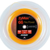 Ashaway ZyMax 66 Fire Power Badminton String Reel-Fire Orange