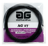 AG 17 Synthetic Gut Tennis String Set-Black