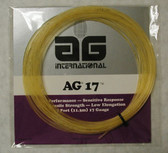 AG 17 Synthetic Gut Tennis String Set-Gold