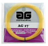 AG 17 Synthetic Gut Tennis String Set-Natural