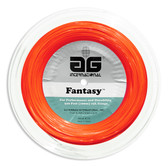 AG Fantasy Nylon Tennis String Reel-Orange