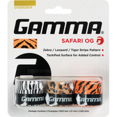 Gamma Safari Tennis Overgrips 3-Pack