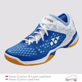 Yonex Women's Power Cushion 03 Indoor Shoe-Light Blue