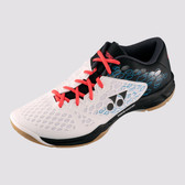 Yonex Men's Power Cushion 03 Indoor Shoe-White/Black