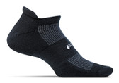 Feetures High Performance Cushion No Show Tab Black
