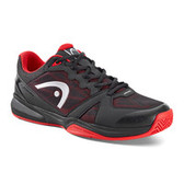 Head Revolt Men's Indoor Shoe-Black/Red