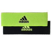 Adidas Interval Reversible Headband - Slime/Black