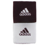 Adidas Interval Reversible Wristband - Maroon/White