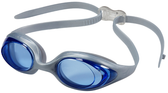 Leader Circuit Swimming Goggles Narrow - Blue/Silver