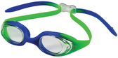 Leader Circuit Swimming Goggles Narrow - Clear/Green Blue