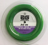 AG 16 Synthetic Gut 16G Tennis String Reel - Green