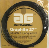 AG Graphite 27 Squash & Racquetball String Set