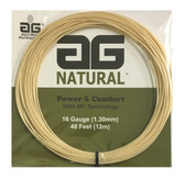 AG Natural 16G Tennis String Set - Natural