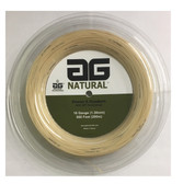 AG Natural 16G Tennis String Reel - Natural