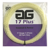 AG 17 Plus Tennis String Set - White