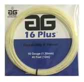 AG 16 Plus Tennis String Set - White