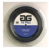 AG 16 Plus Tennis String Reel - Black