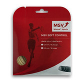 MSV Soft Control Tennis String Set, 1.25 Gauge, Natural