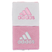 Adidas Interval Reversible Wristband - Pink/White