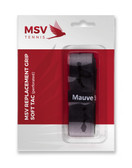 The MSV Soft Tac Perforated Replacement Grip offers cushioned shock absorption with a tacky feel and perforations for maximum sweat absorption. Soft with PU coating yet durable. Black.