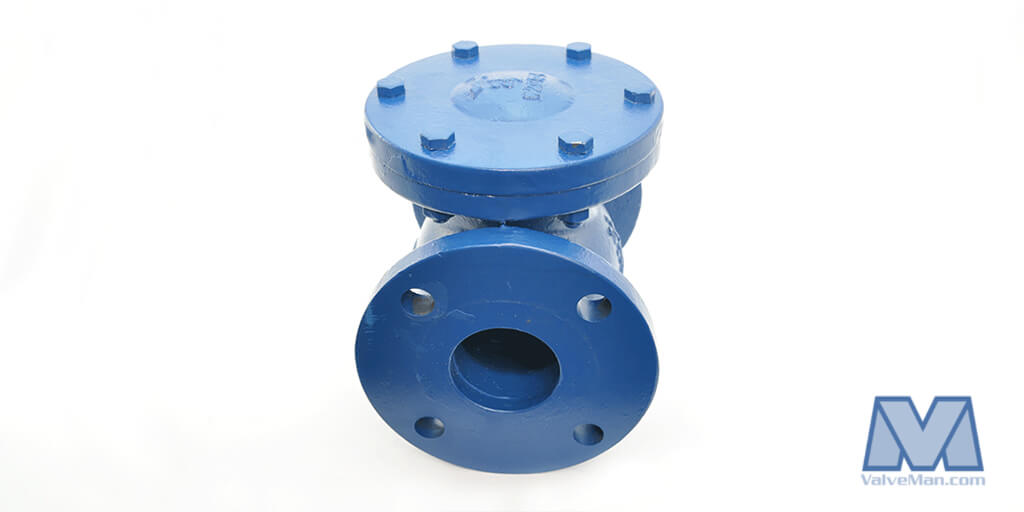 Butterfly Valve with Spring Return Actuator Epoxy Coated Cast Iron Stainless Disc Wafer Style Bonomi SR500S