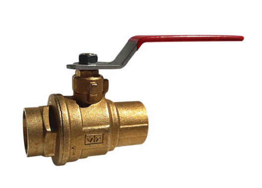 "4"" Red White Valve 5049F - ValveMan.com"