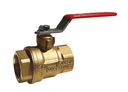 "1"" Red White Valve 5044F - ValveMan.com"