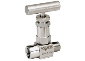 NOSHOK Stainless Steel Mini Needle Valve