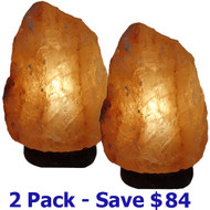 Area Clearing Energized Salt Lamp - 2 Pack (Save $84.50)