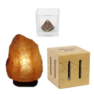 Home Appliance EMF Bundle - Harmony Cube, Area Clearing eSalt Lamp & Home Haarmonizer