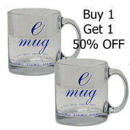 Clear Deluxe Emug - Buy 1 Get 1 50% Off