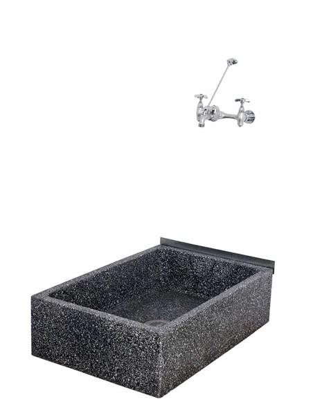 36 X 24 X 10 Height Reduce Height Terrazzo Mop Sink