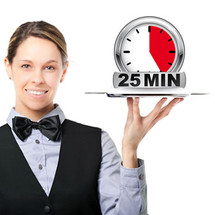 A La Carte Paraffin hands inc massage - 25 mins