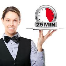 A La Carte Paraffin feet inc massage - 25 mins