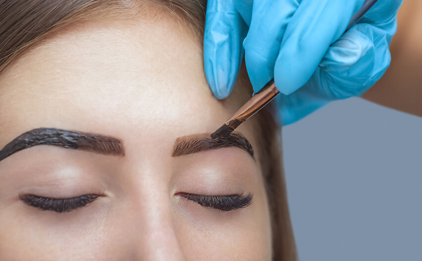 Henna Eyebrows Including Full Eyebrow Modelling Le Beau Clinic