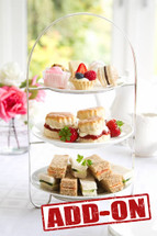 Devonshire Tea (add On) $25 per person