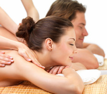 Couple's Stone + Spa Massage Package For Two People  - 80 mins