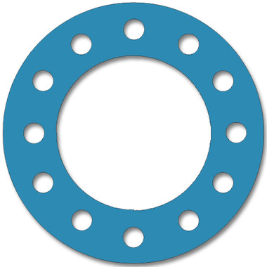Teadit, NSF-61 SAN 1082, Full Face Gasket, Pipe Size: 8(8) Inches (20.32Cm), Thickness: 1/32(0.03125) Inches (0.79375mm), Pressure: 300# (psi), Inner Diameter: 8 5/8(8.625)Inches (21.9075Cm), Outer Diameter: 15(15)Inches (38.1Cm), With 12 - 1(1) (2.54Cm) Bolt Holes, Part Number: CFF1082.800.031.300
