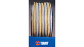 Teadit Style 2017 Expanded PTFE, Graphite, with Aramid Corners Packing,  Width: 1 (1) Inches (2Cm 5.4mm), Quantity by Weight: 2 lb. (0.9Kg.) Spool, Part Number: 2017.100x2