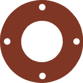 7175 Style Silicone 50-60 Durometer Full Face Gasket For Pipe Size: 1(1) Inches (2.54Cm), Thickness: 1/8(0.125) Inches (0.3175Cm), Pressure: 300# (psi). Part Number: CFF7237.100.125.300