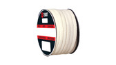 Teadit Style 2019 Synthetic Yarn with PTFE, Lubricated Packing,  Width: 3/16 (0.1875) Inches (4.7625mm), Quantity by Weight: 5 lb. (2.25Kg.) Spool, Part Number: 2019.187X5