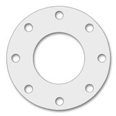 7530 Style PTFE, Virgin PTFE Full Face Gasket For Pipe Size: 4(4) Inches (10.16Cm), Thickness: 1/8(0.125) Inches (0.3175Cm), Pressure: 300# (psi). Part Number: CFF7530.400.125.300