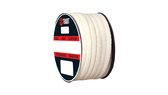 Teadit Style 2019 Synthetic Yarn with PTFE, Lubricated Packing,  Width: 1/2 (0.5) Inches (1Cm 2.7mm), Quantity by Weight: 10 lb. (4.5Kg.) Spool, Part Number: 2019.500X10