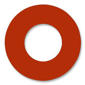 7237 Style Red Rubber Ring Gasket For Pipe Size: 2 1/2(2.5) Inches (6.35Cm), Thickness: 1/16(0.0625) Inches (0.15875Cm), Pressure: 300# (psi). Part Number: CRG7237.2500.062.300