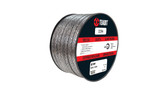 Teadit Style 2236 Graphite Foil with Inconel Wire Jacket Packing,  Width: 3/8 (0.375) Inches (9.525mm), Quantity by Weight: 5 lb. (2.25Kg.) Spool, Part Number: 2236.375X5