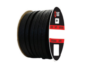 Teadit Style 2255 Synthetic Yarn with Graphite, Lubricated Packing,  Width: 1/2 (0.5) Inches (1Cm 2.7mm), Quantity by Weight: 2 lb. (0.9Kg.) Spool, Part Number: 2255.500x2
