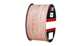 Teadit Style 2777 Novoloid Fiber, PTFE Impregnated, Packing,  Width: 1/8 (0.125) Inches (3.175mm), Quantity by Weight: 2 lb. (0.9Kg.) Spool, Part Number: 2777.125x2