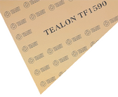Teadit Style TF1590 Fawn Structured PTFE Tealon Sheet, Dimensions: Length: 12 Inches (30.48Cm), Width: 12 Inches (30.48Cm), Thickness: 1/4(0.25) Inches (0.635Cm) Part Number: TF1590.25012X12